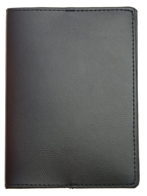 Paspoortmap de luxe skai