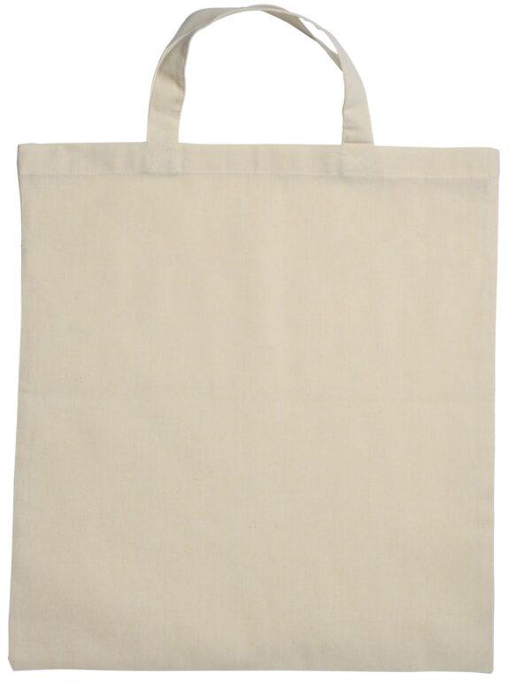Cotton Bag Kort Hengsel