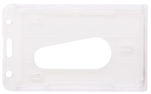 Harde PVC Kaarthouder