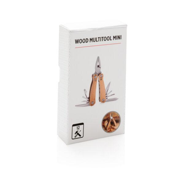 Mini houten multitool