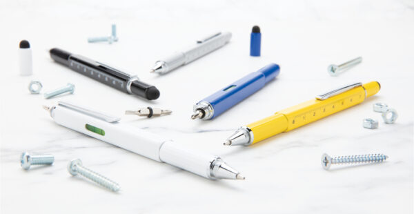 5-in-1 aluminium toolpen