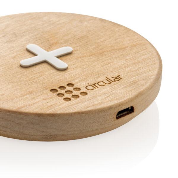 5W houten draadloze oplader