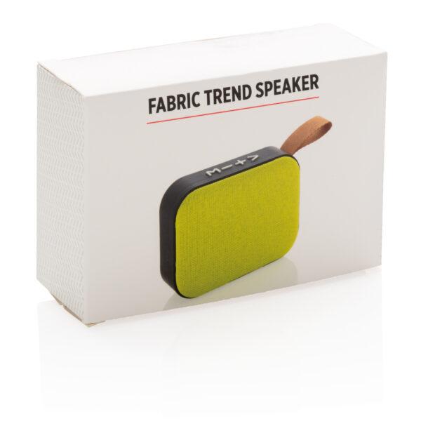 Fabric trend draadloze 3W speaker