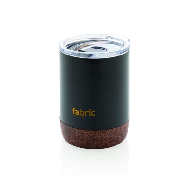 Isoleer koffie beker met kurk