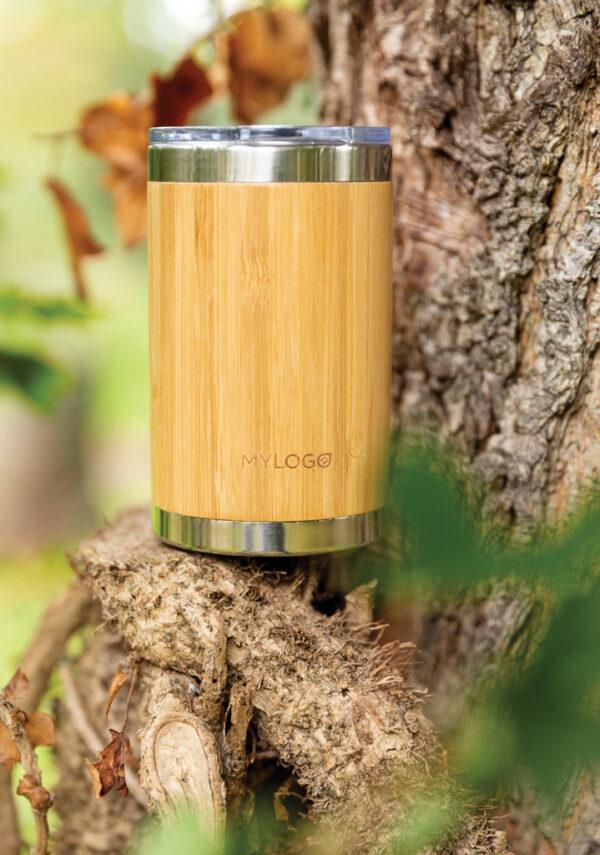 Bamboe koffie beker