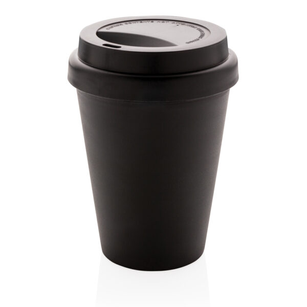 Herbruikbare dubbelwandige koffiebeker 300ml