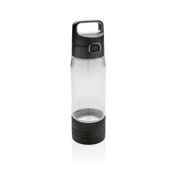 Hydrate lekvrije fles met draadloze oplader