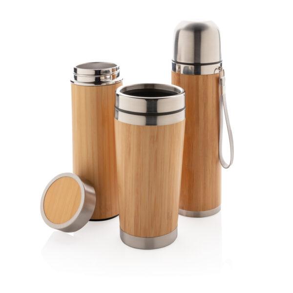 Lekvrije bamboe vacuüm fles