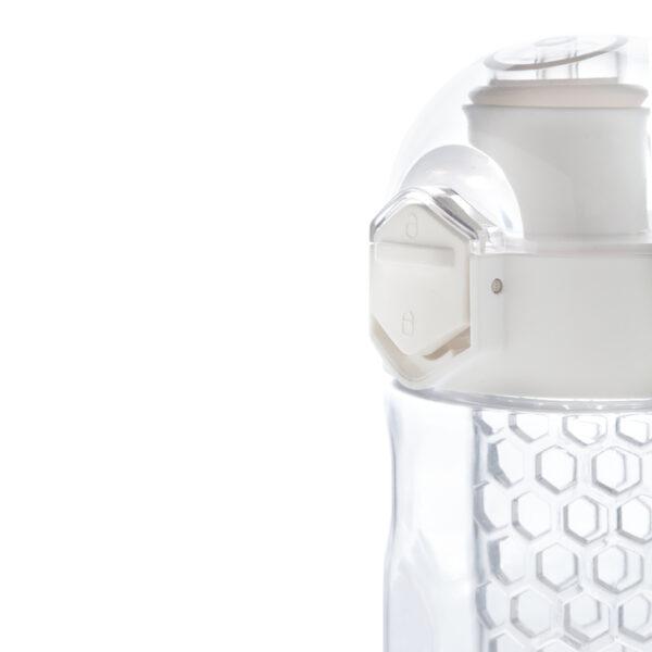 Honeycomb afsluitbare lekvrije waterfles met infuser