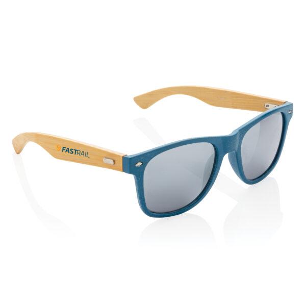 Tarwevezel en bamboe zonnebril