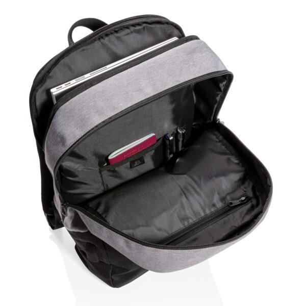 "Modern 15.6"" USB & RFID laptop rugzak PVC vrij"
