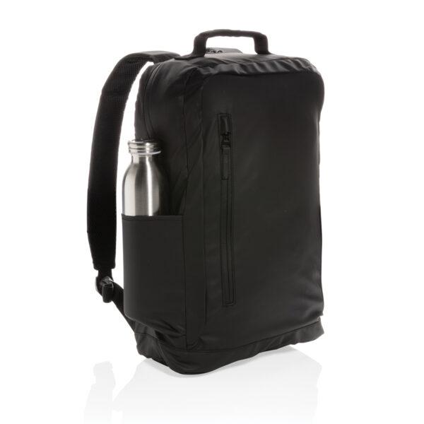"Fashion black PVC vrije 15.6"" laptop rugtas"