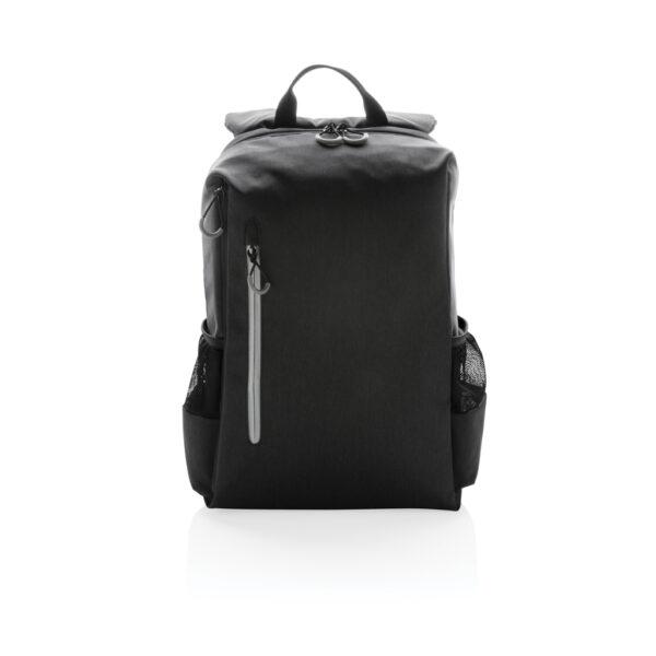 "Lima 15"" PVC vrije laptop rugzak met RFID & USB"