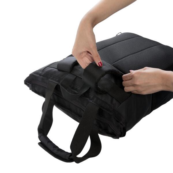 """Swiss Peak 15"""" laptop rugzak en draagtas PVC vrij"""