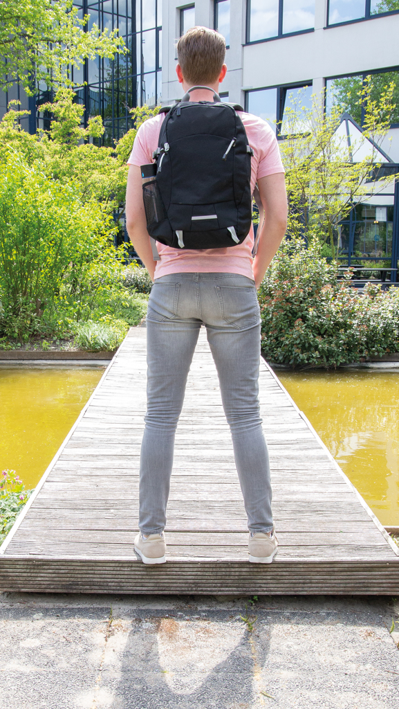 Outdoor RFID laptop rugzak PVC-vrij