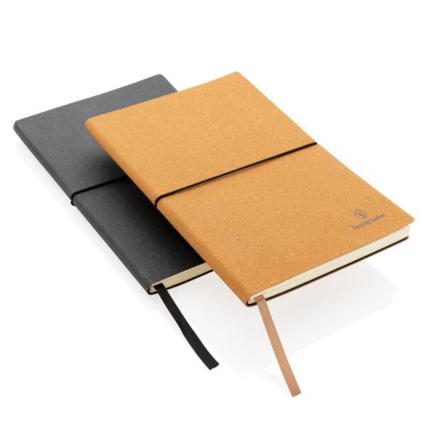 A5 recycled lederen notitieboek