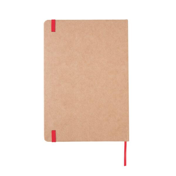 Eco-vriendelijk A5 kraft notitieboek