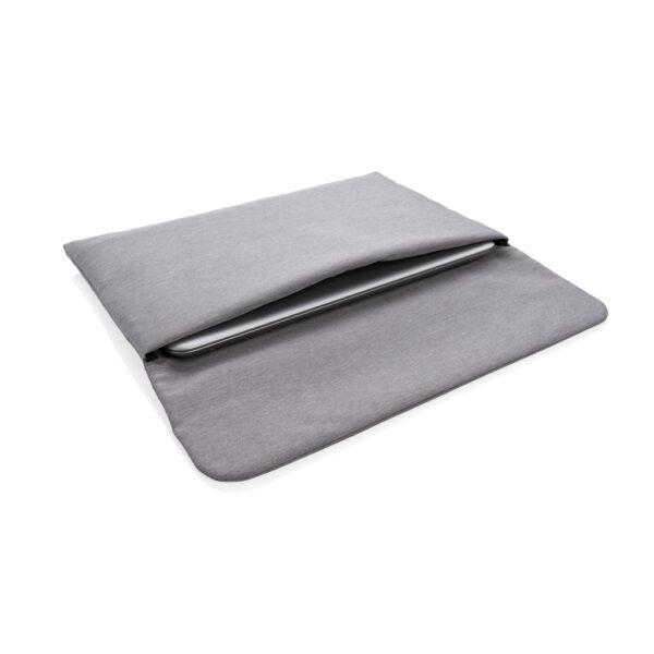 "Magnetisch sluitende 15.6"" laptop sleeve PVC-vrij"