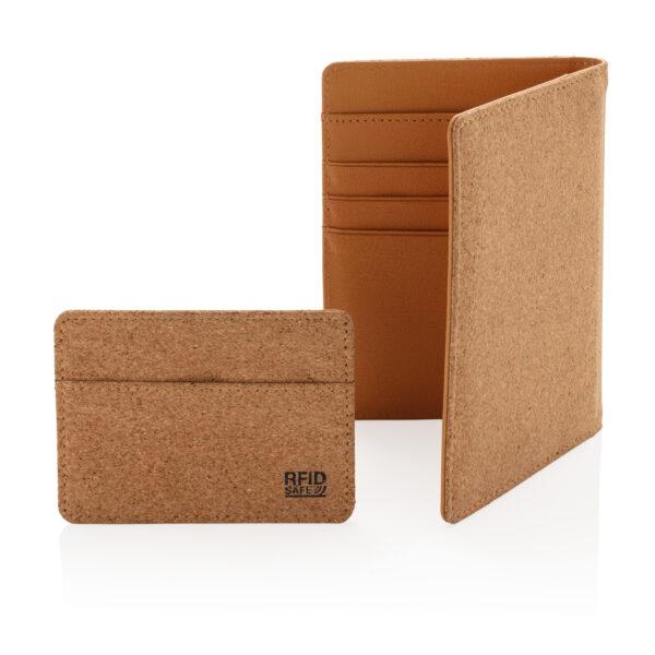 ECO kurk RFID paspoort houder