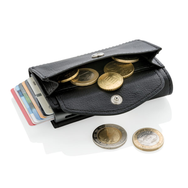 C-Secure RFID kaarthouder & portemonnee met muntvakje