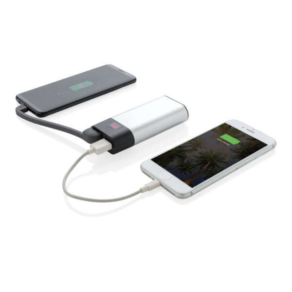 4.000 mAh powerbank met digitale display