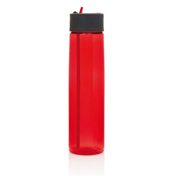 Tritan fles met een rietje