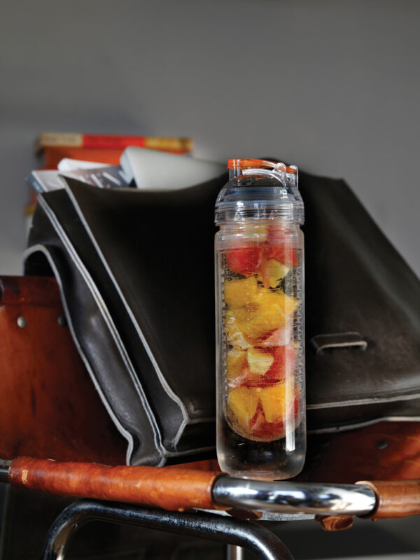 Waterfles met infuser