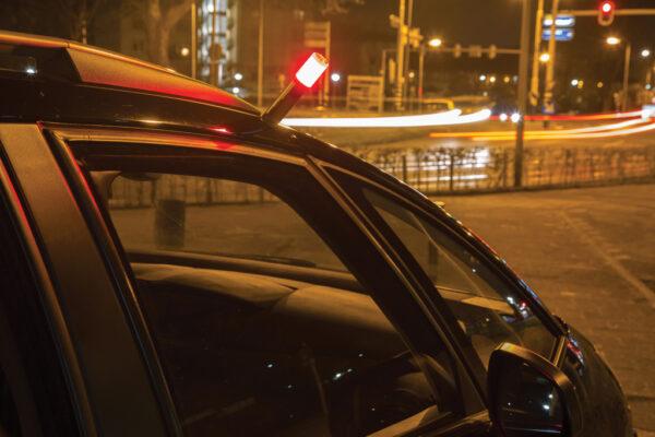 Auto veiligheidslamp