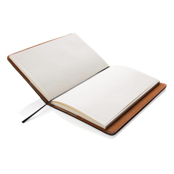 Notitieboek met vak voor telefoon
