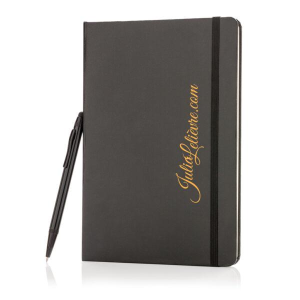 A5 hardcover notitieboek met touchscreen pen