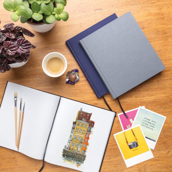 Deluxe notitieboek 210x240 mm