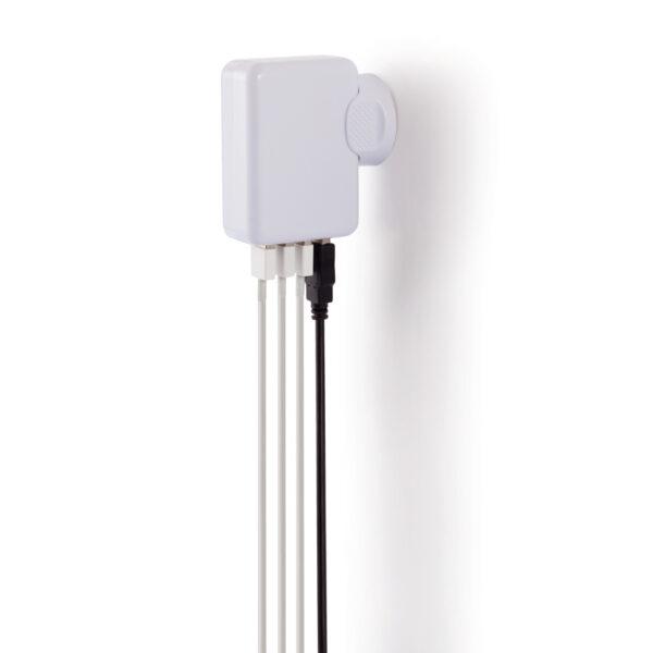 Reisstekker met 4 USB poorten
