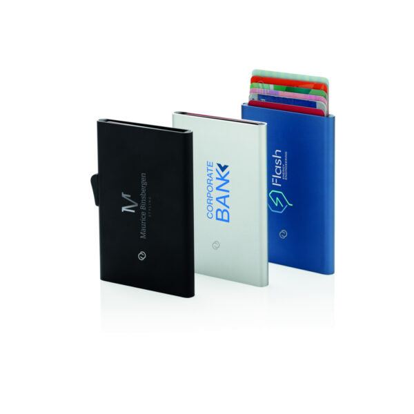 C-Secure aluminium RFID kaarthouder