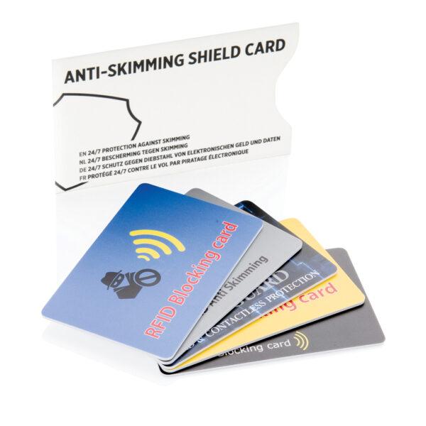 Anti-skimming beschermkaart