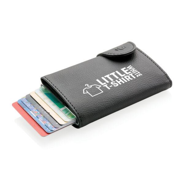 C-Secure aluminium RFID kaarthouder & portemonnee