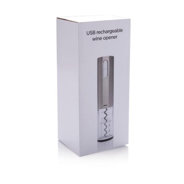 Electronische kurkentrekker - herlaadbaar via USB