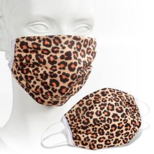 2-laags katoen / polyester mondmasker full colour bedrukt