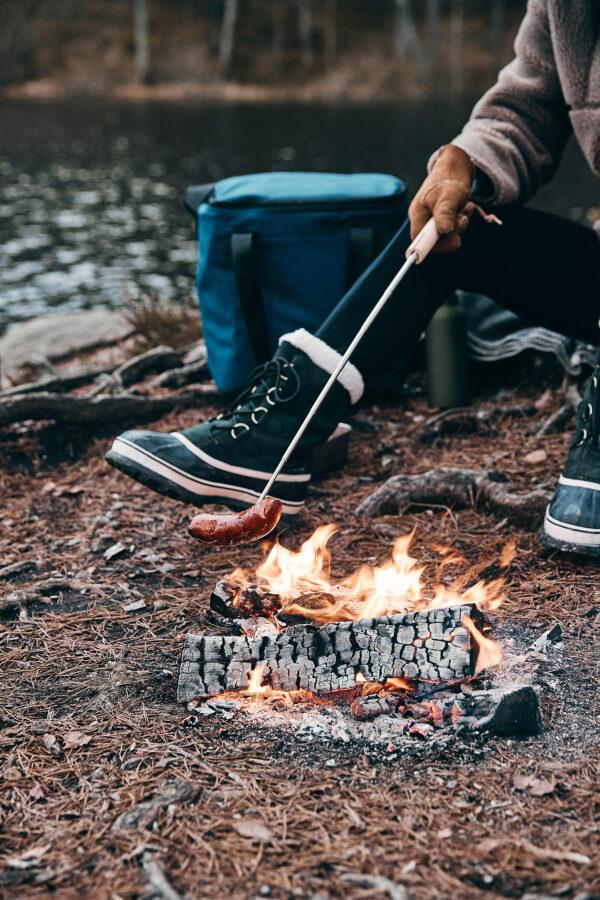 Vici uitschuifbare grillspies